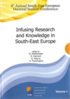 Proceedings of the 4th Annual South East European Doctoral Student Conference: Infusing Research and Knowledge in South East Europe