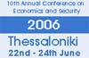 Tenth Annual Conference on Economics and Security