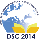 9th South East European Doctoral Student Conference 25 & 26 September 2014