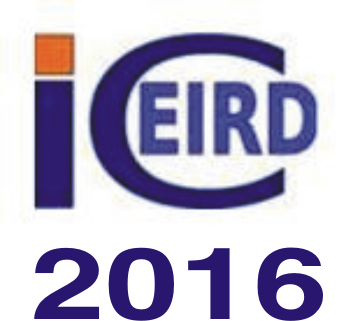 ICEIRD 2016: Responsible Entrepreneurship. Vision, Development and Ethics.