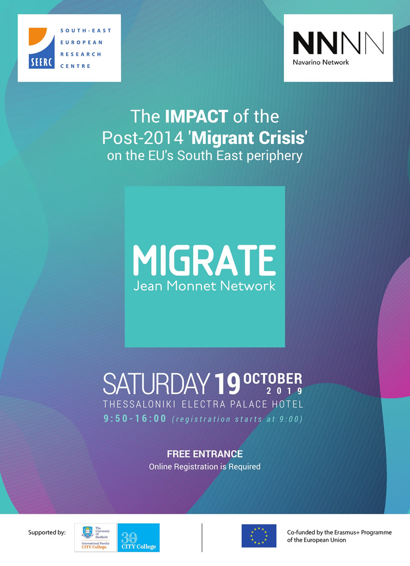 The IMPACT of the Post-2014 'Migrant Crisis' on the EU's South East Periphery