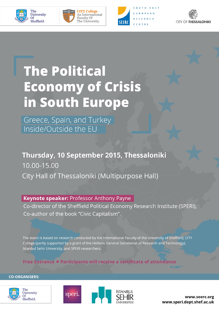 The Political Economy of Crisis in Southeast Europe