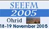 2nd South-East European Workshop on Formal Methods (SEEFM'05)