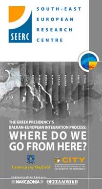 The Greek Presidency's Balkan-European Integration Process: Where do we go from here?