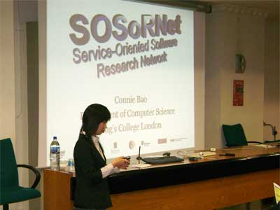Connie Haoying Bao (SOSoRNET - sponsor)