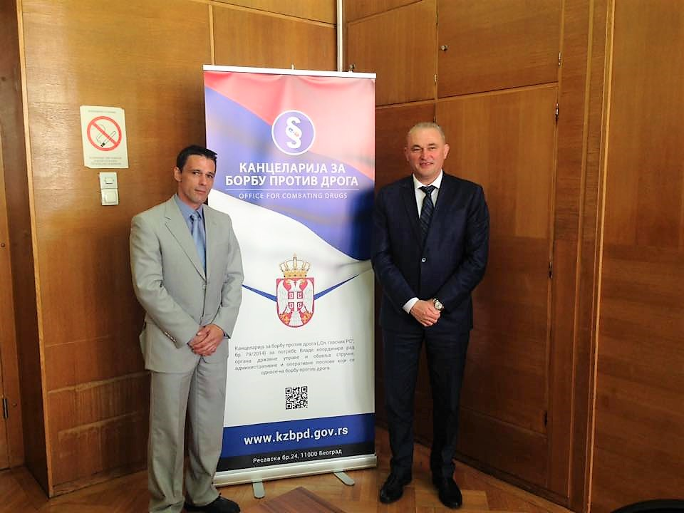 "Mr Papamalis is the Senior Key Expert of the Project '""Harmonisation of Serbian legislation with EU acquis in the area of drug abuse prevention and trade in drug precursors"