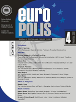 Call for Papers - Europolis Journal of Political Science and Theory