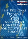 Invited talk by the Director of SEERC at the Regional Finance and Investment Conference for South East Europe